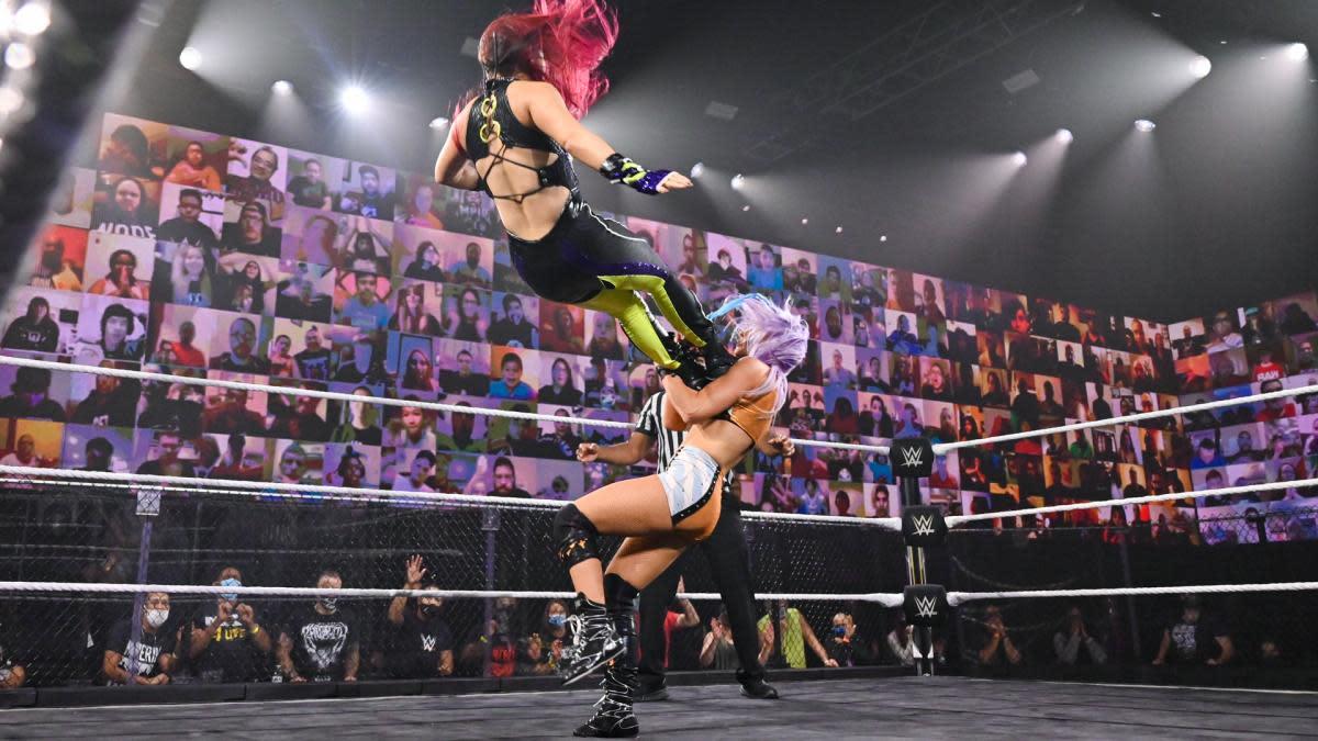 Io Shirai à NXT TakeOver