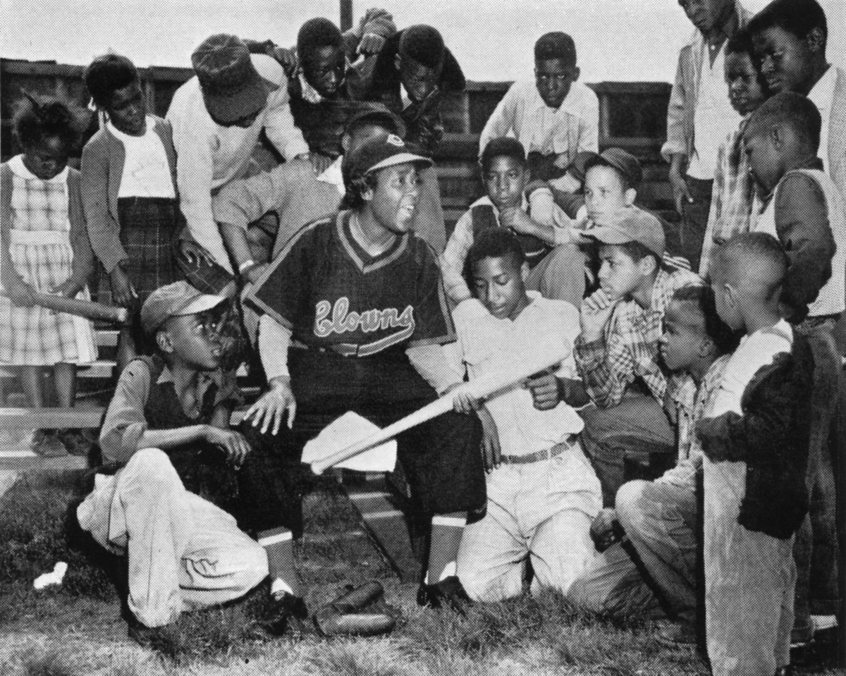 Stone gave boys and girls a new idea of what a ballplayer could be.
