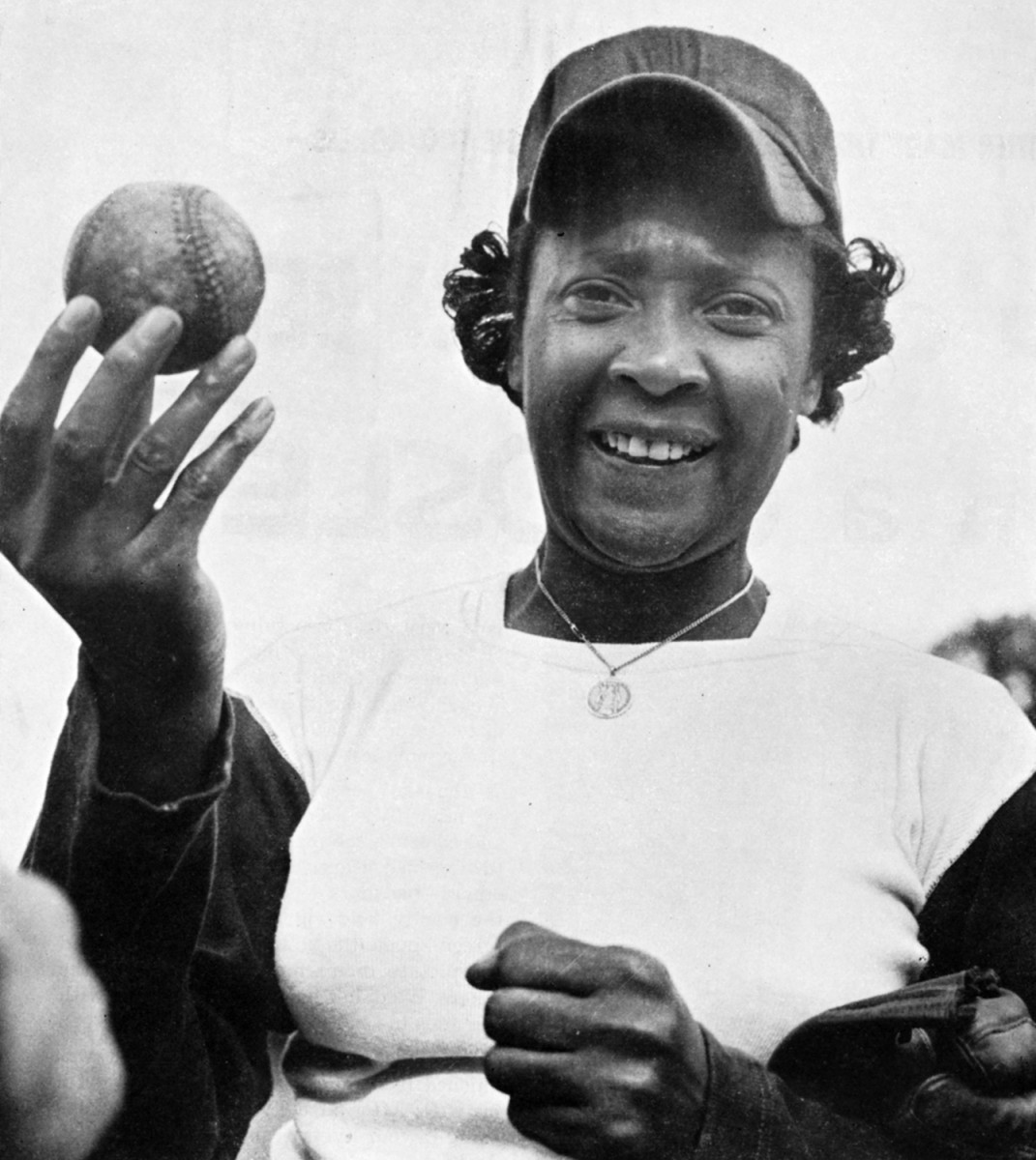 Stone, the first of three women to play in the Negro League.