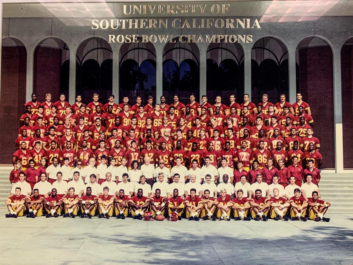 USC, Rose Bowl winners in January 1990.