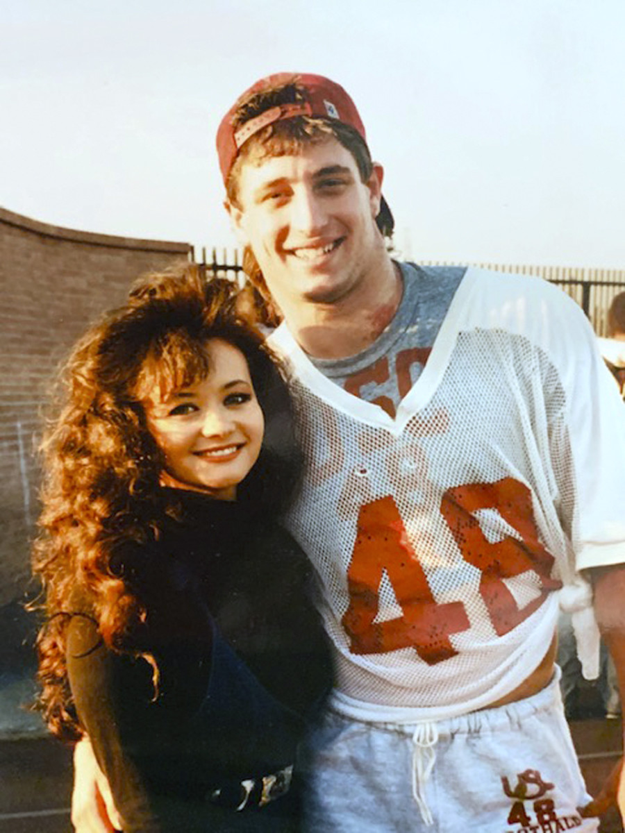 Alana and Matt, in their dating days, circa 1989.