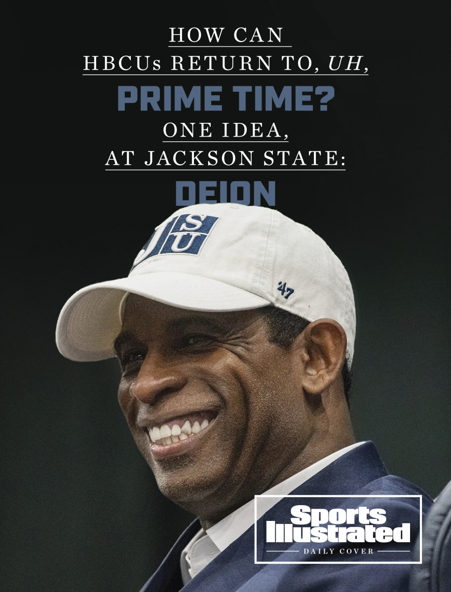 Daily Cover: Deion Sanders at Jackson State