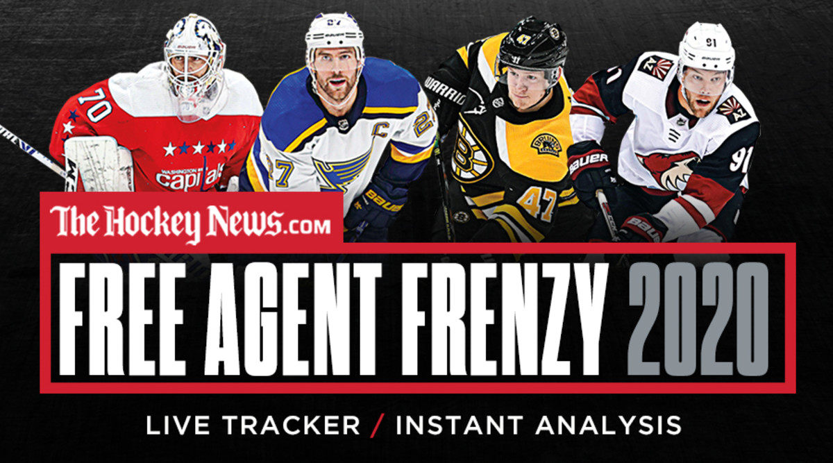 NHL Free Agency Frenzy 2020: Signing Tracker and Analysis – Sports Illustrated
