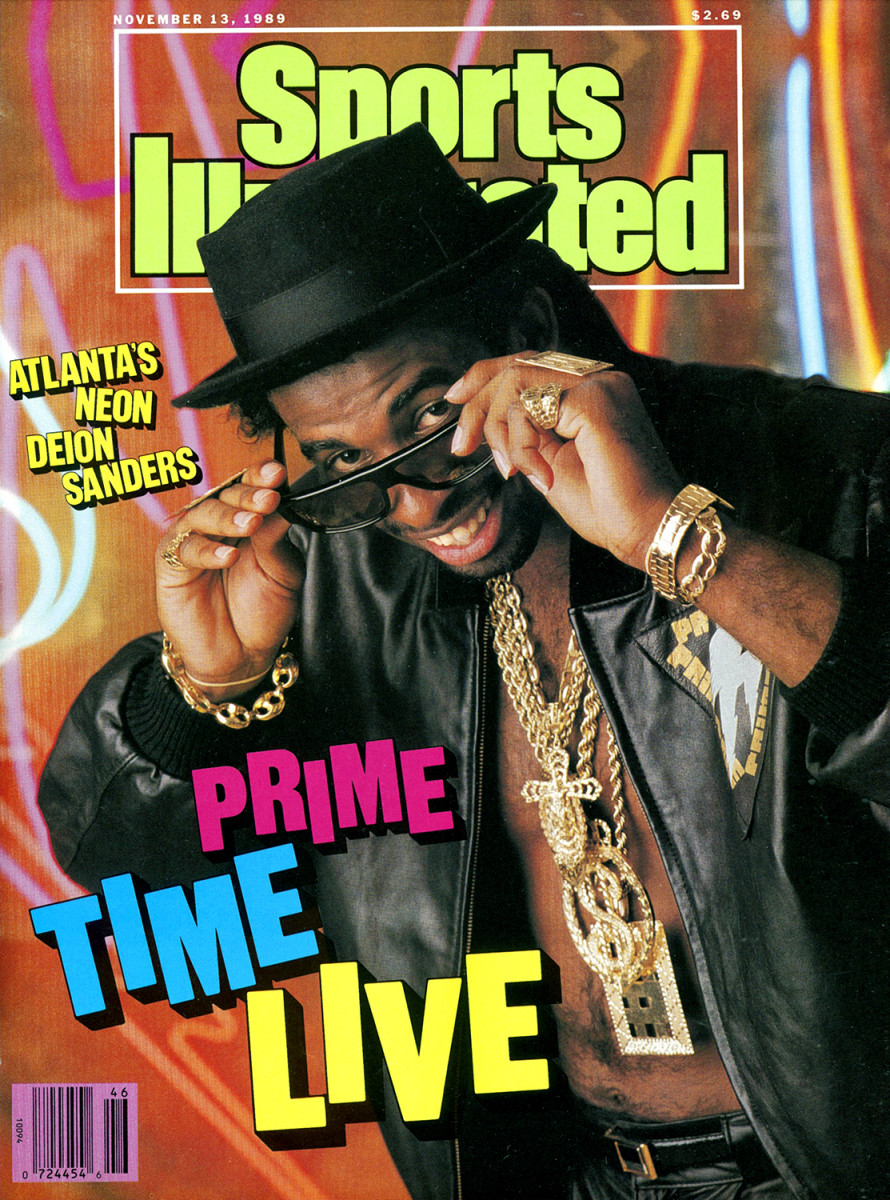 Deion Sanders SI cover from 1989