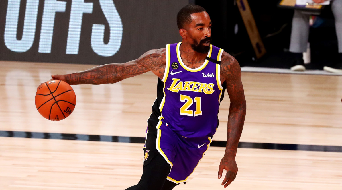 Lakers' JR Smith reflects on NBA career - Sports Illustrated