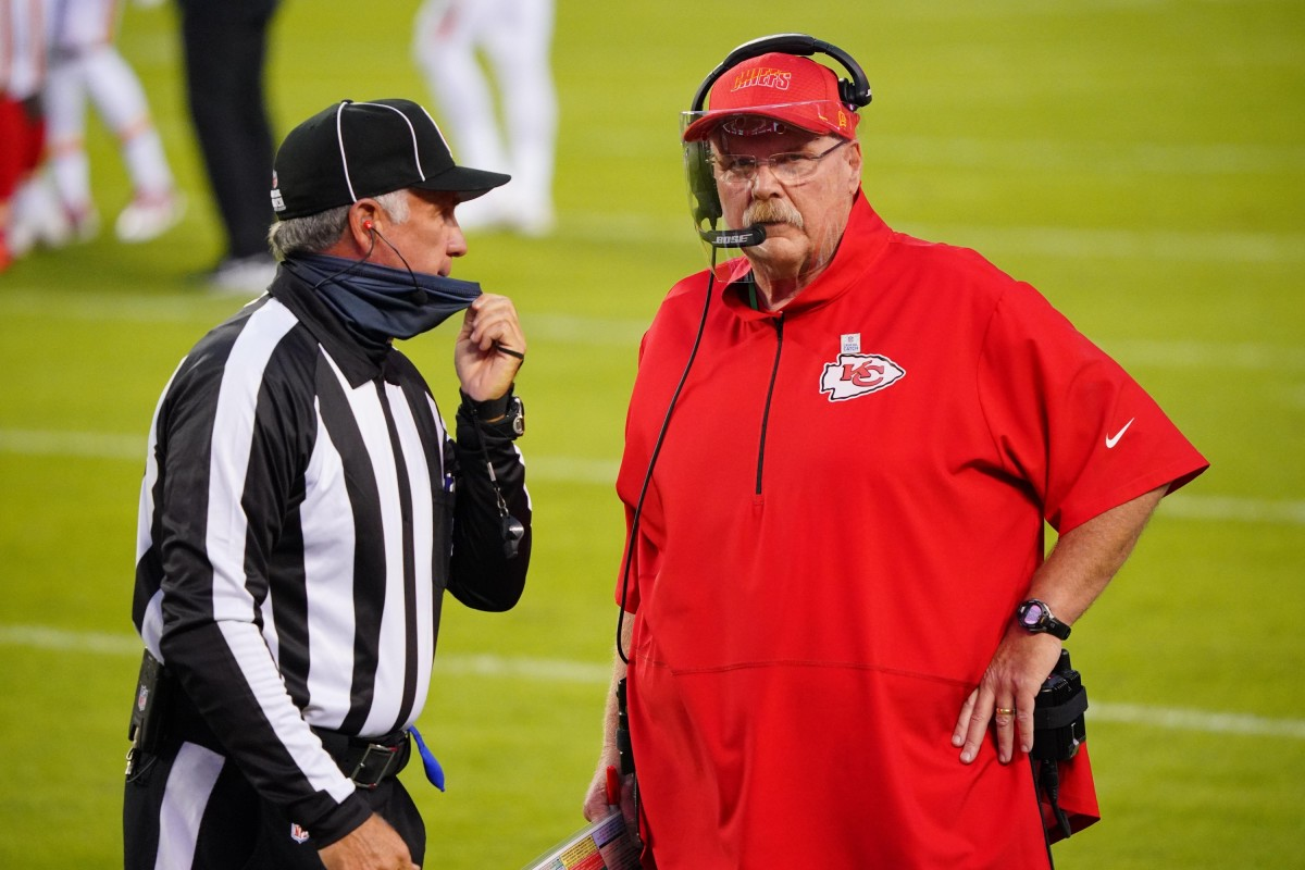 Andy Reid signs extension with Chiefs - ProFootballTalk