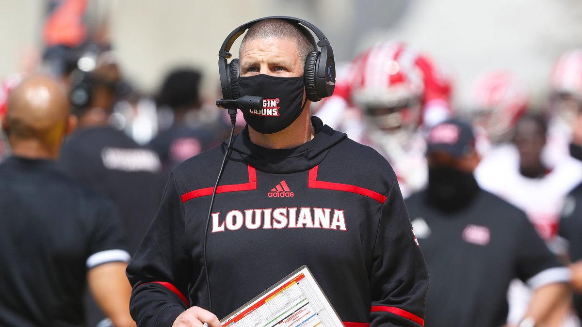 Louisiana coach Billy Napier
