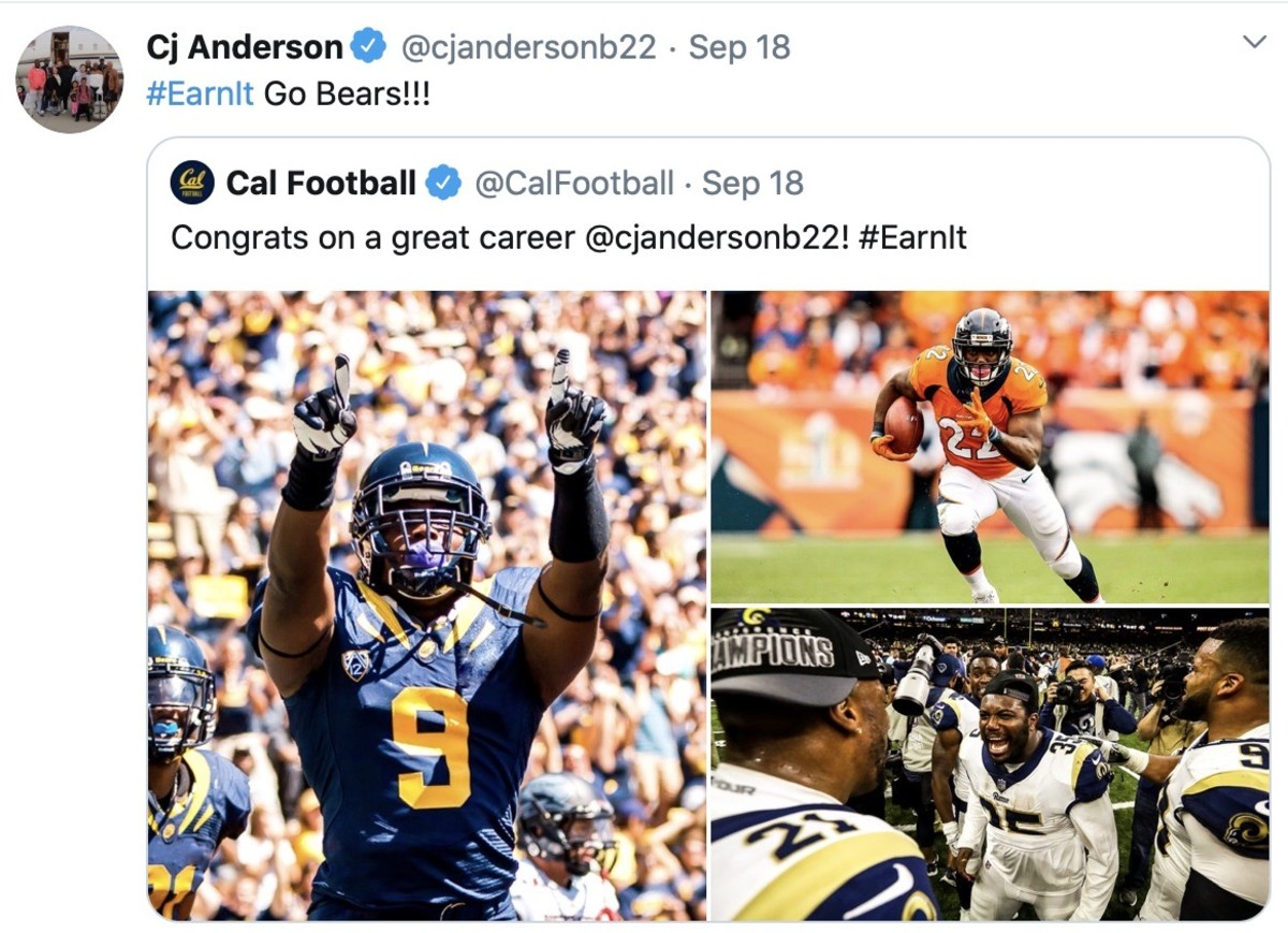 C.J. Anderson retired after seven NFL seasons