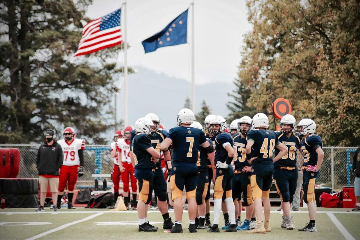 The Homer (Alaska) High School football team