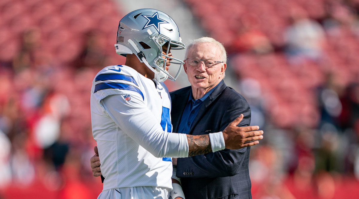 Stephen Jones Says Dak Prescott's Injury Doesn't Affect His Contract Negotiation – Sports Illustrated