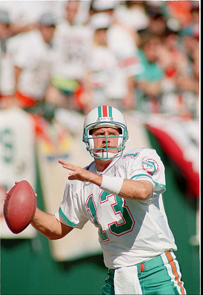 Dan Marino is the greatest quarterback in the history of the Dolphins, and it will take a special talent to dismount him from the top spot.