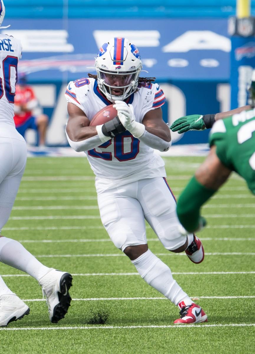 Zack Moss, Buffalo Bills running back
