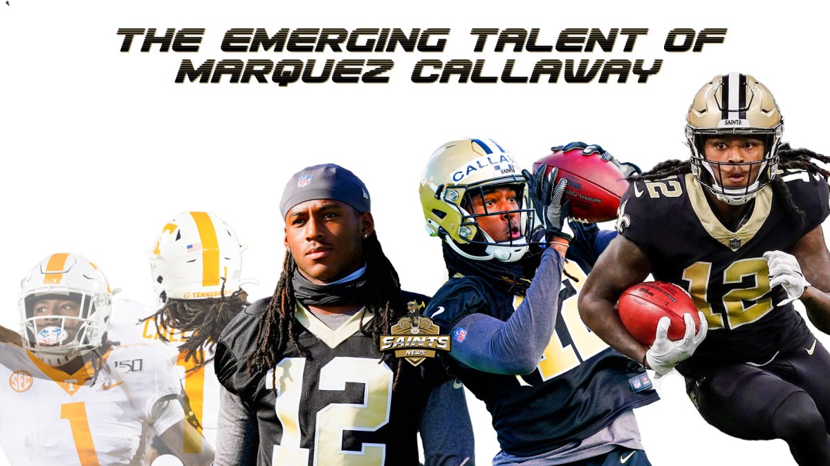 Saints Wide Receiver Marquez Callaway