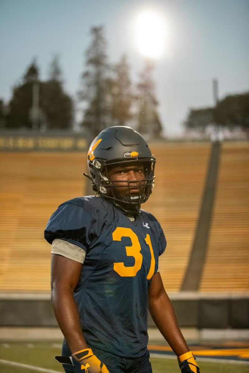 Ashton Stredick says he feels very much a part of things at Cal
