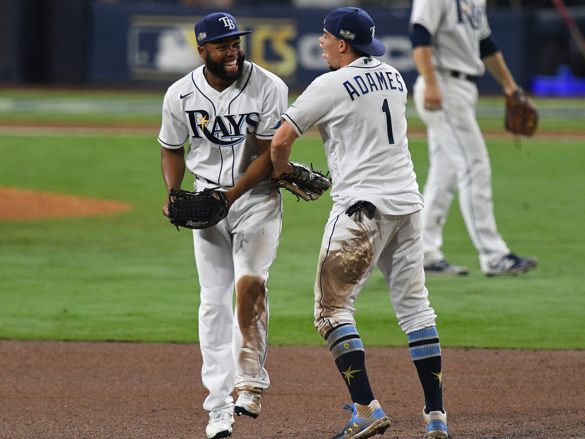 Rays celebrate after winning ALCS