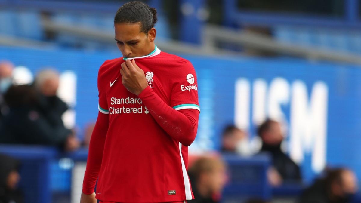 Virgil van Dijk is out with a knee injury
