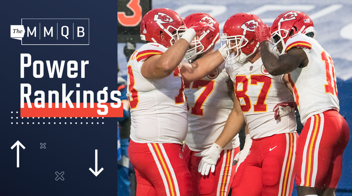 NFL Power Rankings: Chiefs Back to No. 1; Steelers Top Undefeated Team – Sports Illustrated