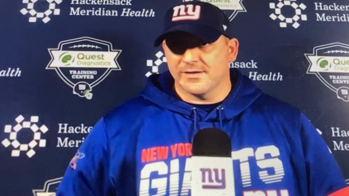 Giant coach Joe Judge on Jalen Hurts