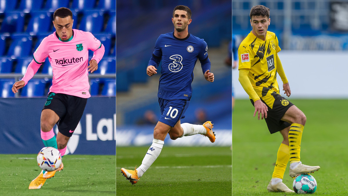 Sergino Dest, Christian Pulisic and Gio Reyna brace for the Champions League stage.