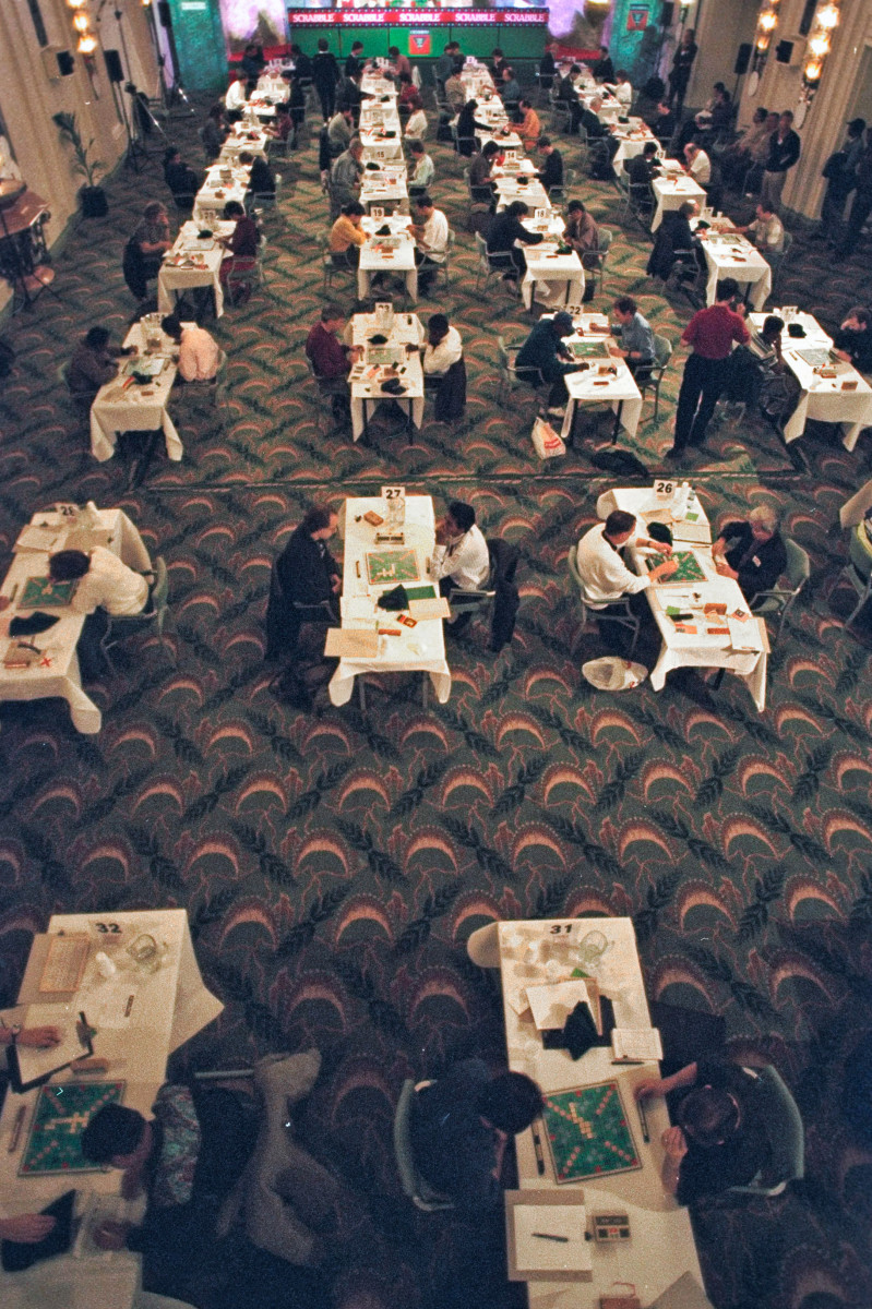 In 1995, before Scrabble fever had fully spiked, London hosted a televised, four-day world championship, with $28,000 on the line.