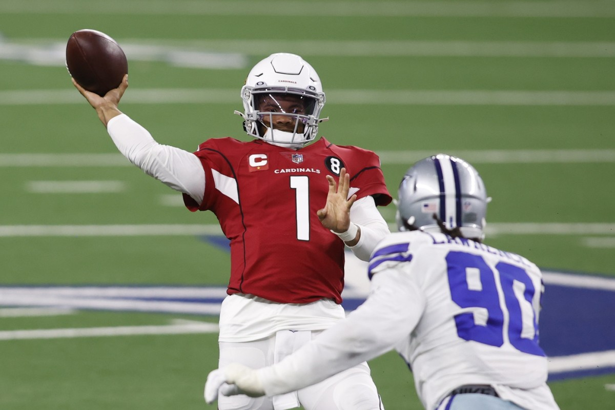 Arizona Cardinals quarterback Kyler Murray is operating an offense that is currently second in the NFL with an 80 percent red-zone touchdown rate.