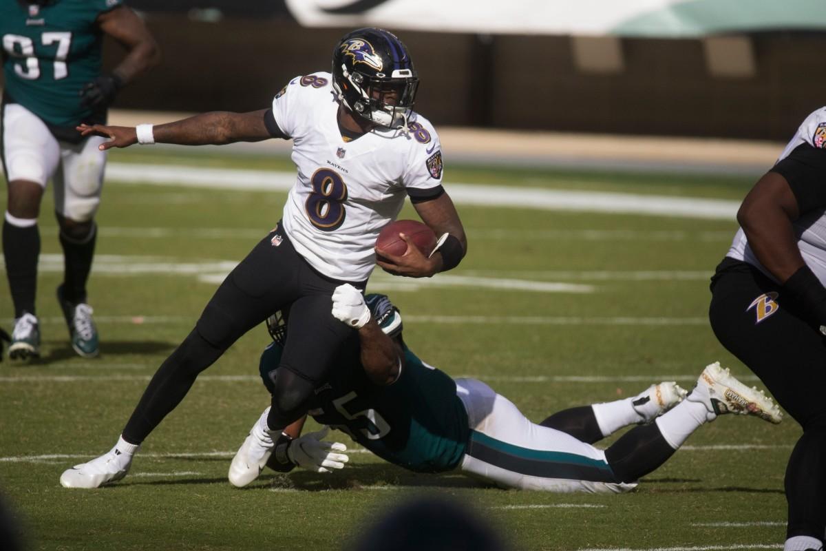 Lamar Jackson, Ravens QB