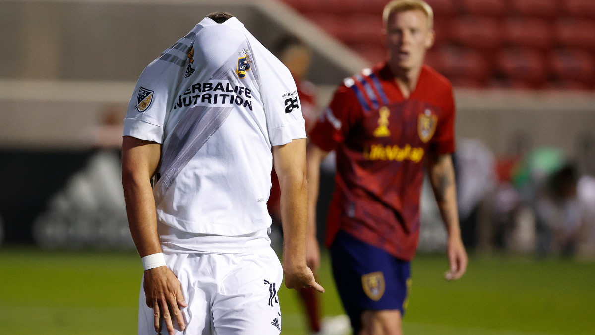 Chicharito has just one goal with the LA Galaxy