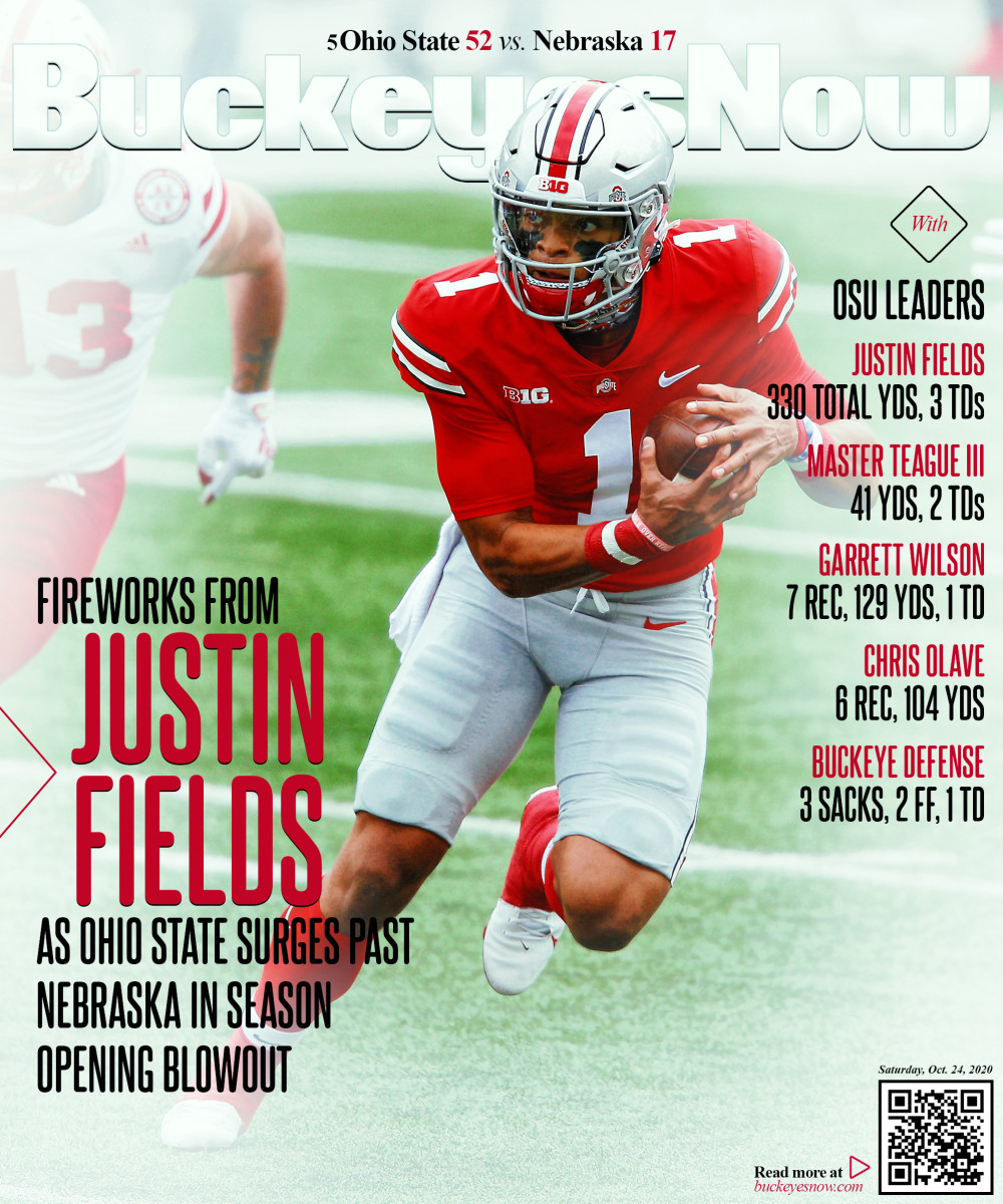 Game Observations Ohio State Offense Vs Nebraska Sports Illustrated Ohio State Buckeyes News Analysis And More
