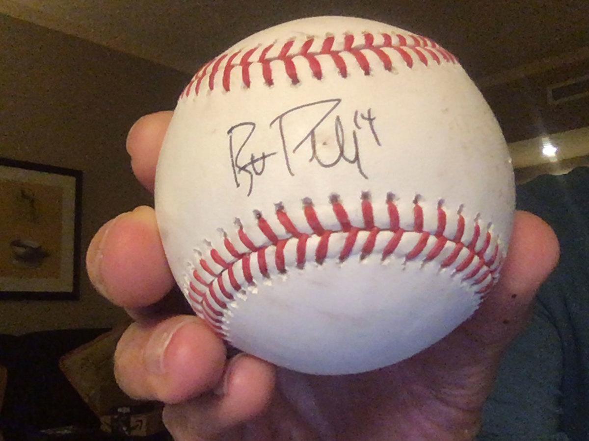 Brett Phillips baseball
