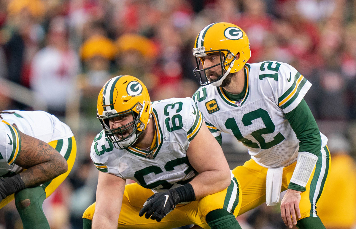 Corey-Linsley-Packers-Rodgers