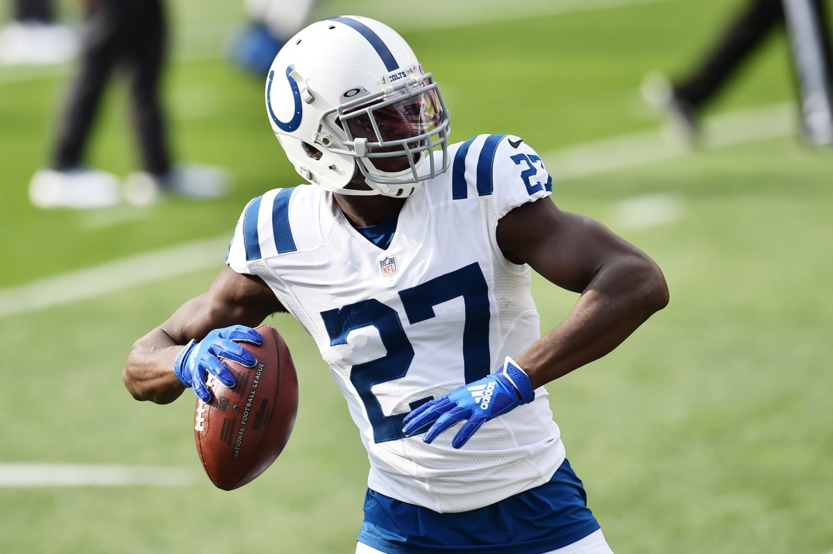 Indianapolis Colts cornerback Xavier Rhodes was given a one-year, $3-million deal to prove he's worth more after this season. So far, he's played well in making a strong case for a new deal.