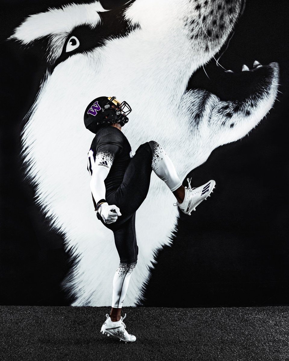 A Dawg dressed for success.