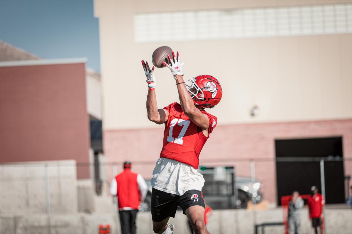 Devaughn Vele, Utah wide receiver
