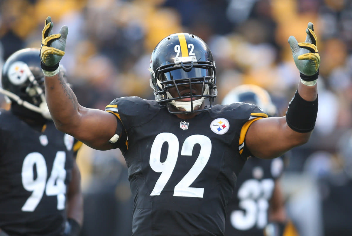 James Harrison has the most sacks in Steelers franchise history.