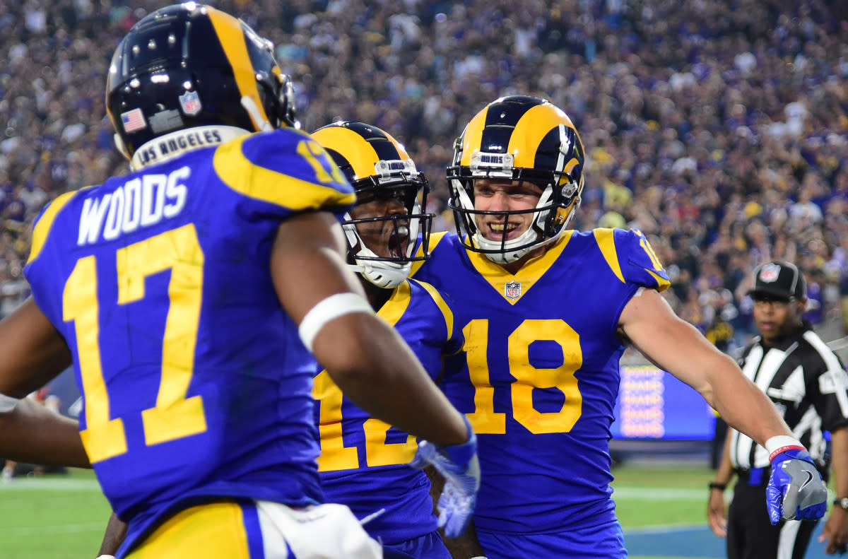 The Best Wide Receivers In Los Angeles Rams Franchise History Sports Illustrated