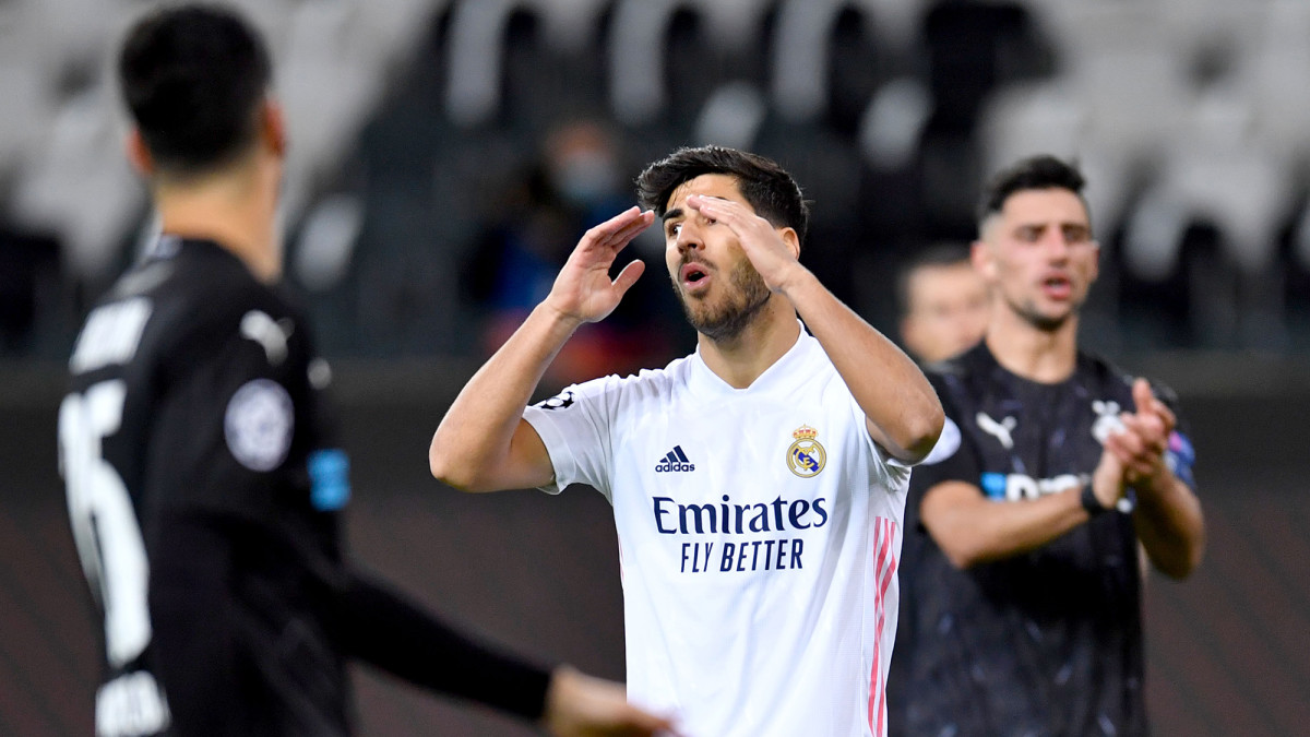 Marco Asensio and Real Madrid lose again in Champions League