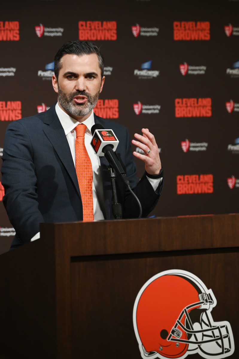 Kevin Stefanski was introduced as the 22nd head coach in the history of the Browns on Jan. 14, 2020.