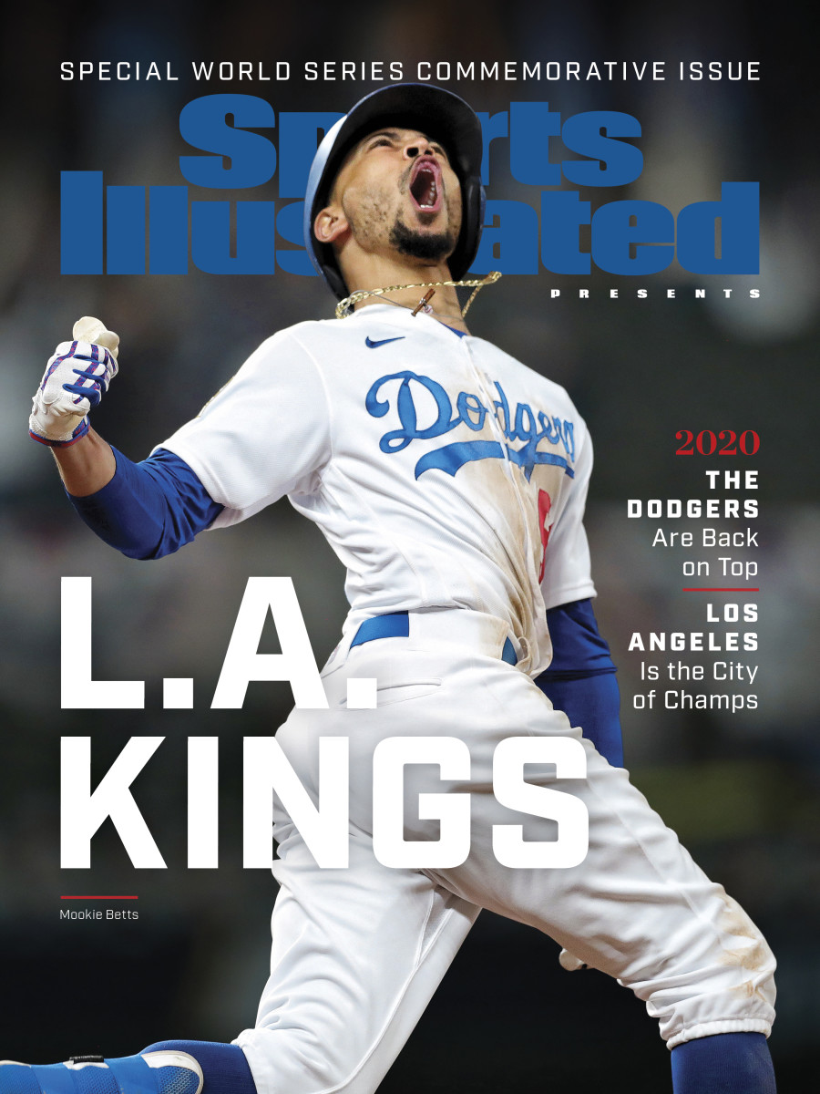 Mookie Betts Dodgers' cover