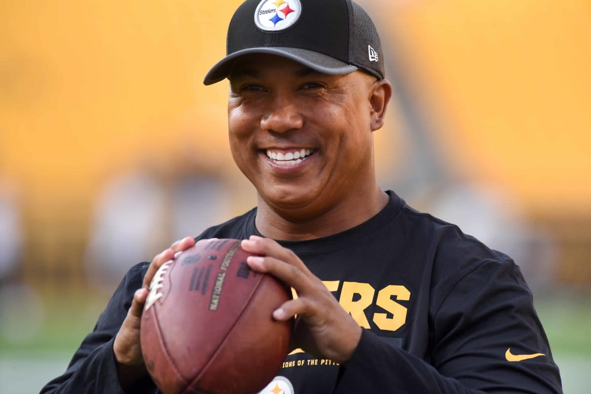 Former Steelers receiver Hines Ward could run like a halfback and throw like a quarterback.