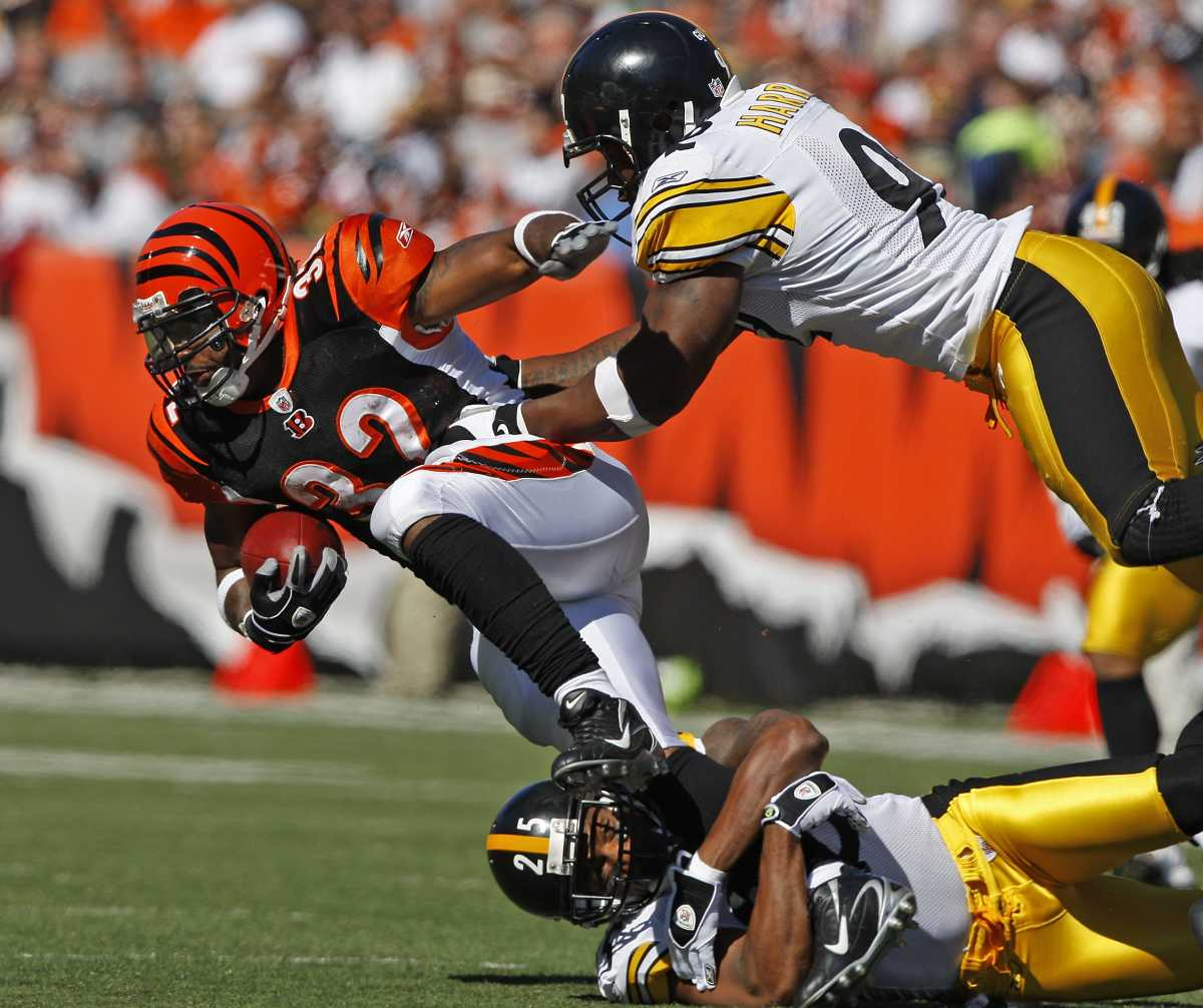 James Harrison (92) is the Steelers' All-Time sack leader.
