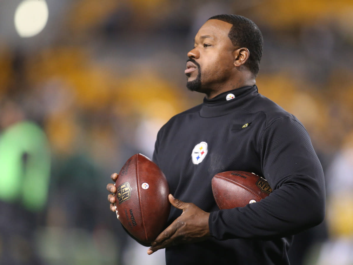 Joey Porter, former player and linebackers coach for the Steelers, was a hard-charging linebacker who played with a ton of heart.