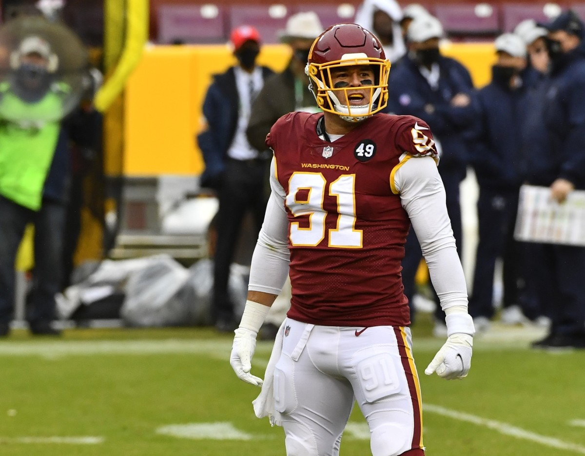 Washington tight end Ryan Kerrigan could be moved before Tuesday's NFL trade deadline.