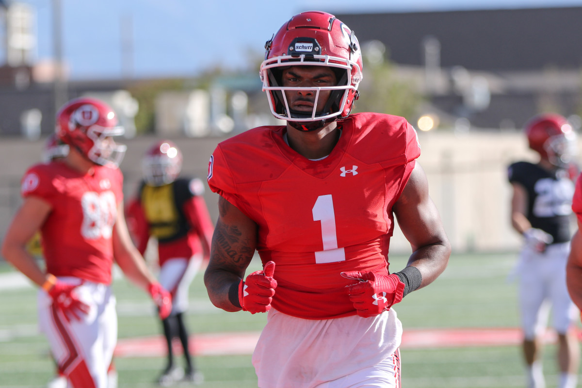 After a phenomenal fall camp, Utah wide receiver Bryan Thompson is ready to be the breakout star of the season