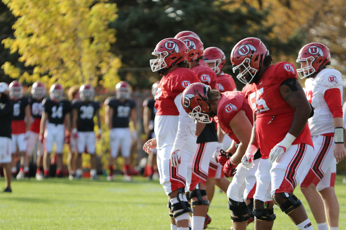 Utah's offensive line is expected to be a huge driving force leading the team on offense this season, returning three starters and a handful of others ready to emerge.