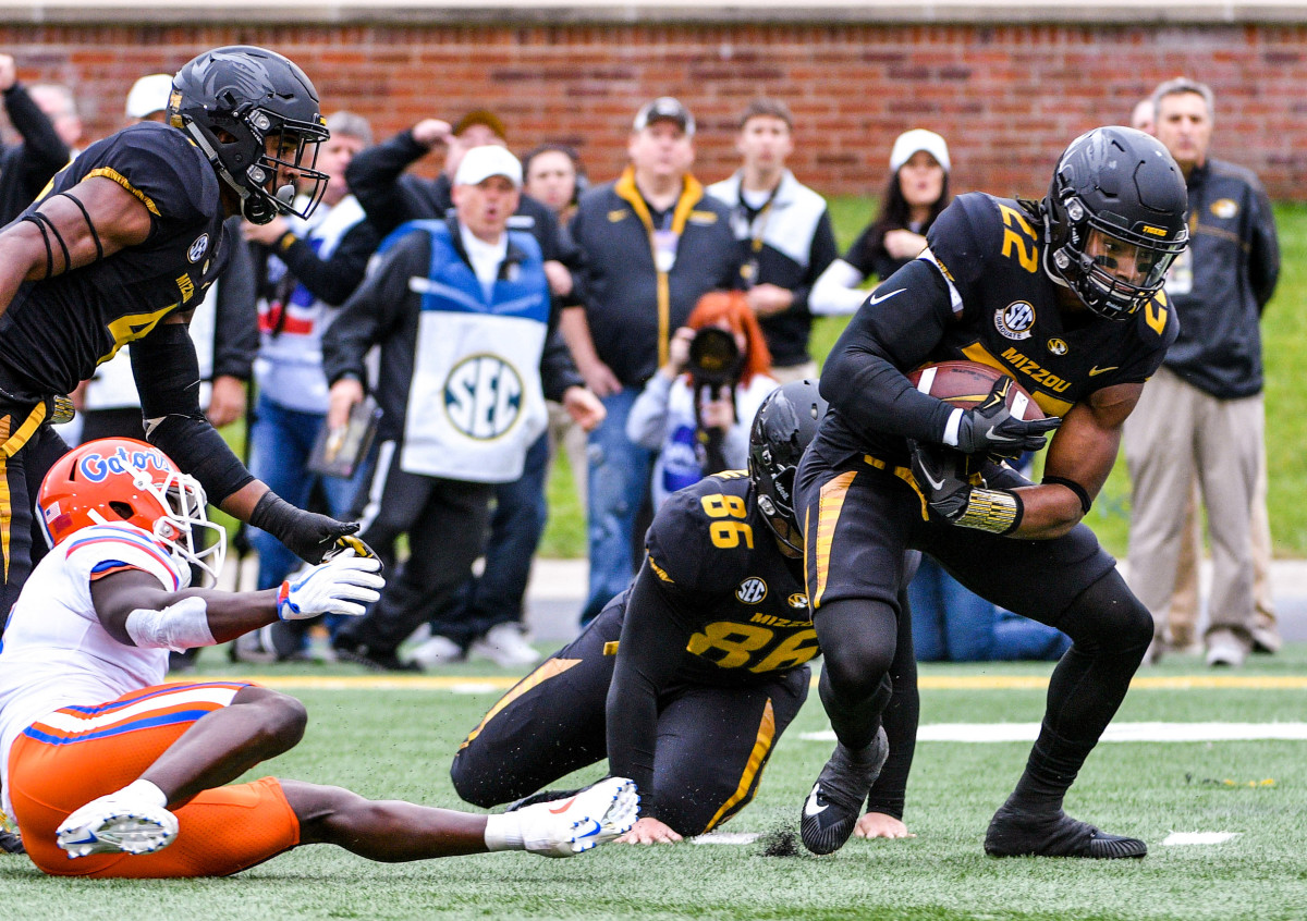 Sherrils (22) helped anchor a Tigers passing defense that was seventh best in the nation in 2015, but says his role in the protest affected his NFL prospects.