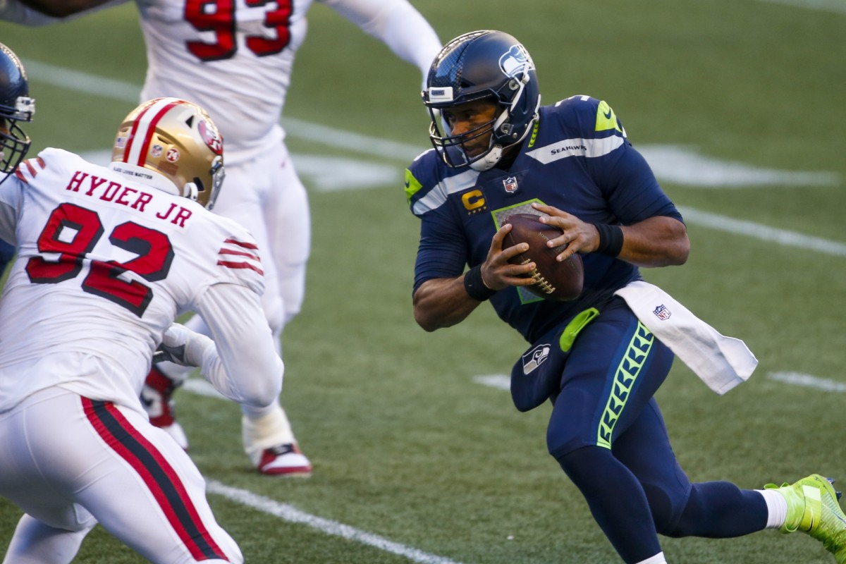 Russell Wilson wins over 49ers