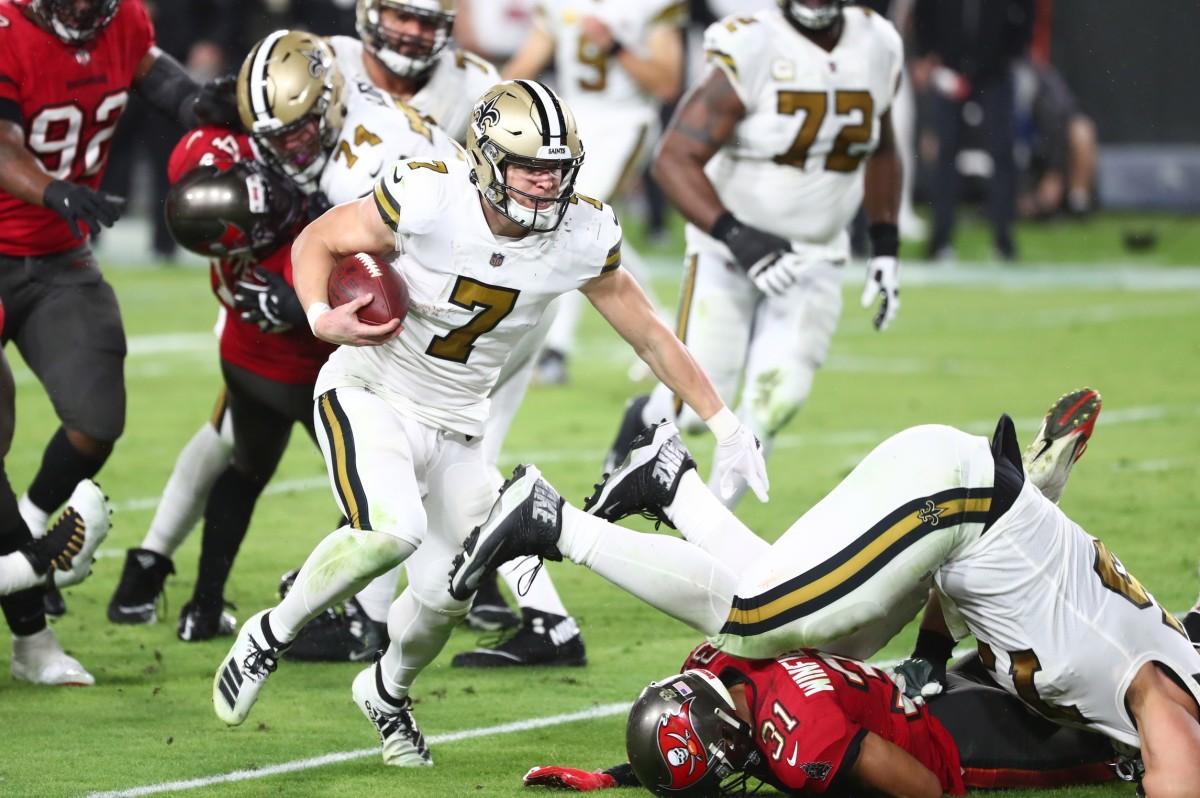 Saints quarterback Taysom Hill