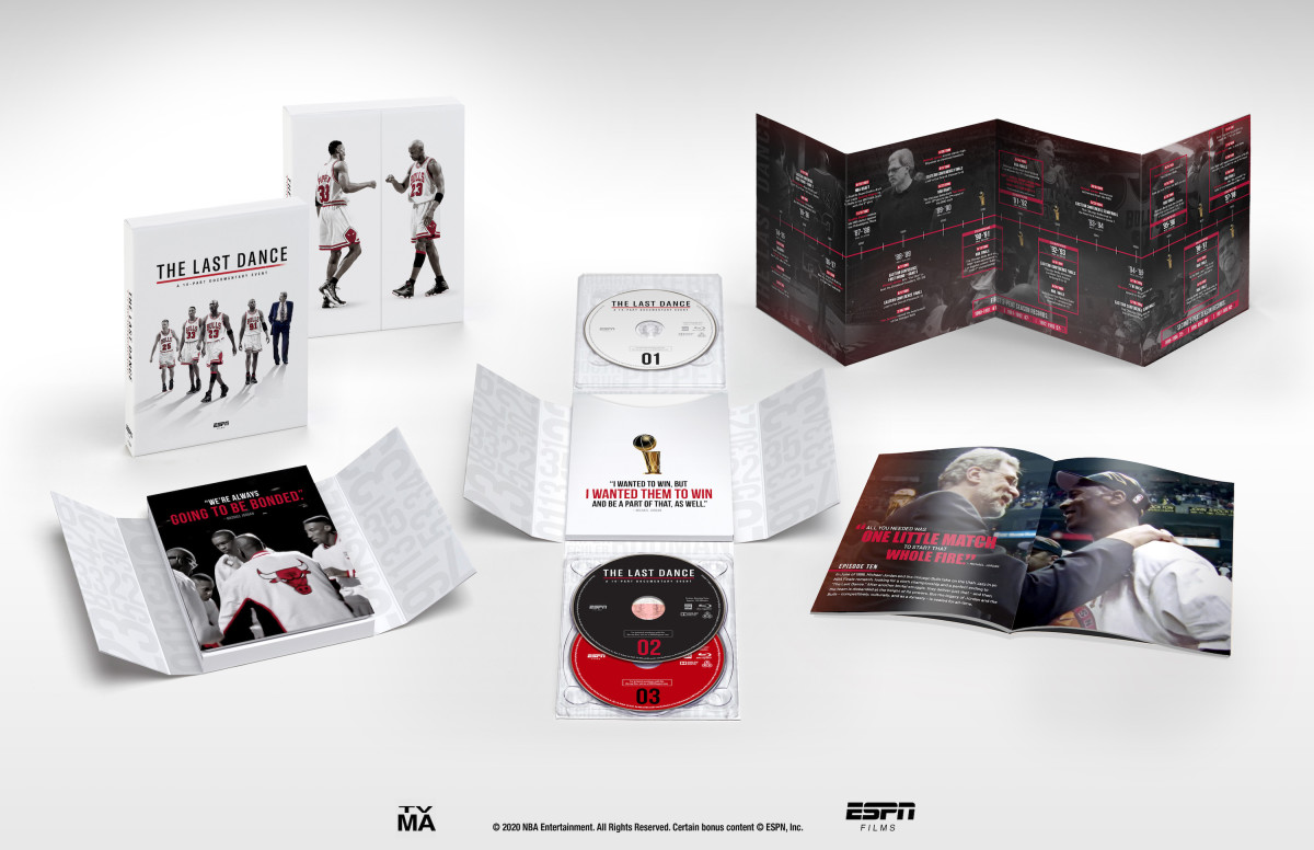 Promotional image for Last Dance box set