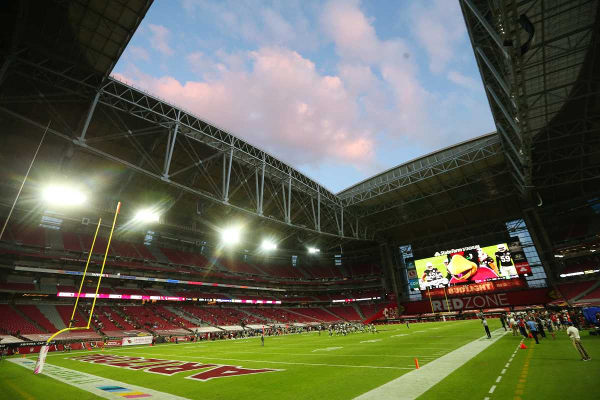 The Cardinals have played their home games at State Farm Stadium in Glendale, AZ, since 2006.
