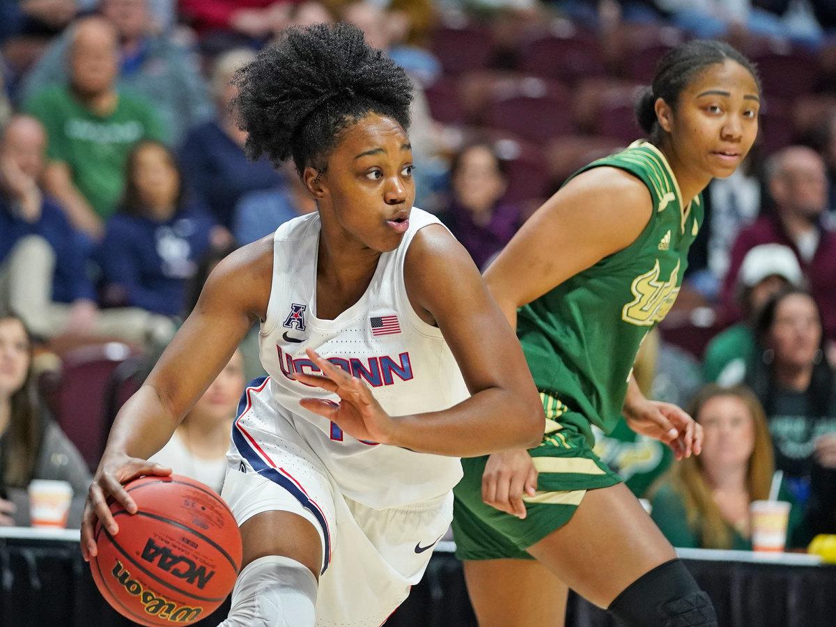 UConn guard Christyn Williams